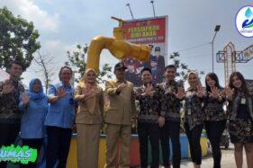Wali Kota Madiu, Maidi, beserta jajaran pimpinan PDAM Trita Taman Sari Kota Madiun. (pdam.madiunkota.go.id)