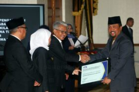 Pemkab Ponorogo Terima Penghargaan Level 3 dari BPKP Jatim