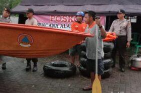 Siaga Banjir, Posko dan Perahu Karet Disiapkan di Tiap Kecamatan di Ngawi