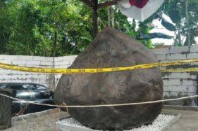 Prasasti Keraton Agung Sejagat. (Detik.com)