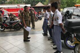 Nongkrong Saat Jam Sekolah, 5 Pelajar di Karanganyar Diciduk Satpol PP