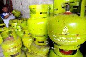 Tabung gas elpiji 3 kg. (Solopos-dok)