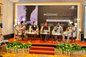 Acara Wedding Celebration 2020 yang digelar The Sunan Hotel Solo. (istimewa)