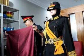 Seragam Keraton Agung Sejagat Tiru Brunei Darussalam, Harga Rp900.000/Setel