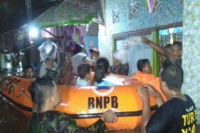 Pekalongan & Batang Banjir, Warga Diungsikan BPBD