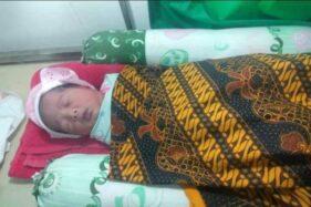Bayi Perempuan Baru Lahir Ditemukan di Halaman Rumah Warga Ngemplak Boyolali