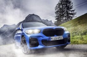 BMW X1 eDrive 25e. (Okezone)
