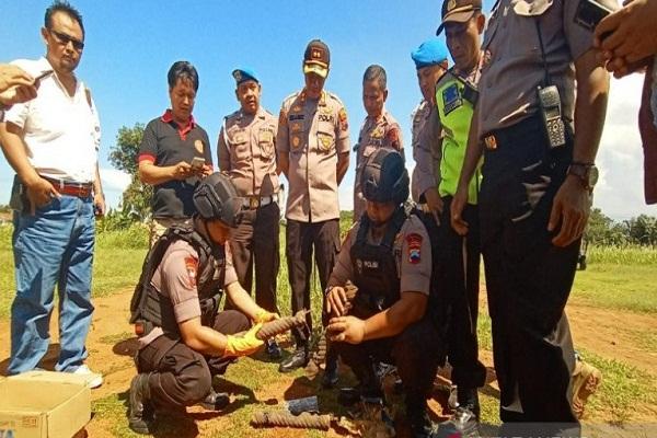 Polresta Pekalongan Pelaku Teror Bom di Bilik ATM