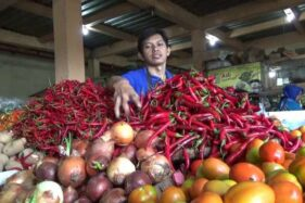 Musim Hujan, Harga Cabai di Pasar Kota Boyolali Naik