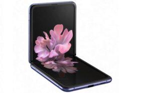 Prediksi bentuk Samsung Galaxy Z Flip. (Gsmarena.com)