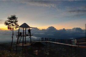 Objek wisata Gancik Hill Top di Selo, Boyolali, Jawa Tengah. (Istimewa)