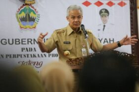 Gubernur Jawa Tengah Ganjar Pranowo. (Antara/Humas Pemprov Jateng)