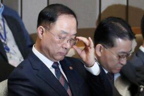 Menteri Keuangan Korsel, Hong Nam-ki. (Reuters)