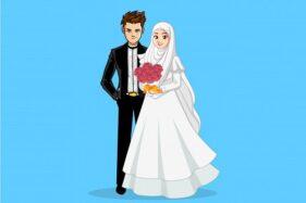 Ilustrasi pernikahan. (Freepik.com)