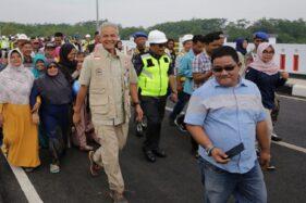 Gubernur Jateng Resmikan 3 Jembatan di Pekalongan