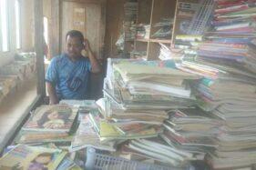 Kisah Jono, Satu-satunya Penjual Buku di Pasar Kota Boyolali