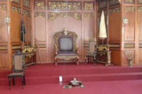 Gedung Yayasan Kasultanan Karaton Pajang di Dukuh Sonojiwan, Makamhaji, Kartasura, Sukoharjo. (Solopos-M. Aris Munandar)