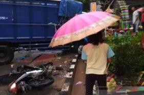 Truk Tabrak Motor di Temanggung, 2 Nyawa Melayang