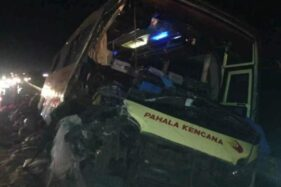 Bus Pahala Kencana Tabrak Truk di Tol Cipali, 2 Orang Meninggal