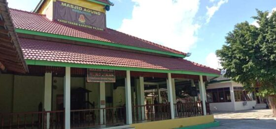 Masjid Agung Yayasan Kasultanan Karaton Pajang di Makamhaji, Kartasura, Sukoharjo. (Solopos-M. Aris Munandar)