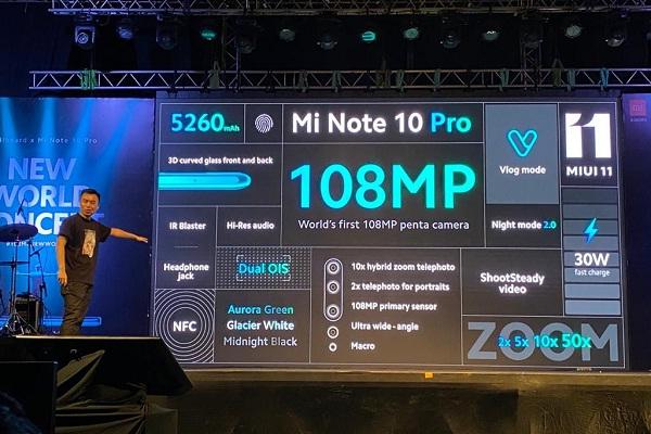 Resmi, Ini Jadwal Penjualan Xiaomi Mi Note 10 Pro di Indonesia