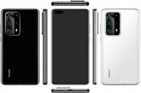 Prediksi bentuk Huawei P40. (Gsmarena)