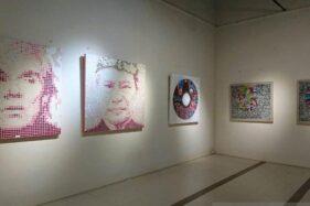 Pameran Special Perception menyajikan karya seni rupa delapan seniman asal Bali di Limanjawi Art House Borobudur, Kabupaten Magelang, Jawa Tengah, Sabtu (18/1/2020). (Antara-Limanjawi Art House Borobudur)