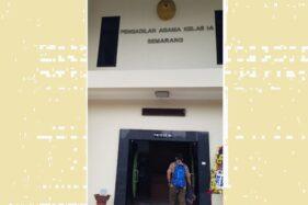 Pengadilan Agama Kota Semarang. (Antara-I.C. Senjaya)