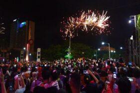 Tahun Baru 2020: Pesta Kembang Api di Solo Baru Diklaim Paling Meriah