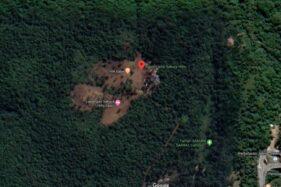 Citra Satelit Sakura Hills Lawu Karanganyar Berwarna Cokelat, Ini Kata Relawan