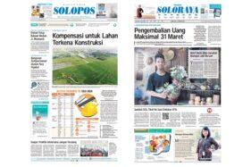 Harian Umum Solopos edisi Kamis (23/1/2020).