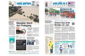 Harian Umum Solopos edisi Senin (27/1/2020).