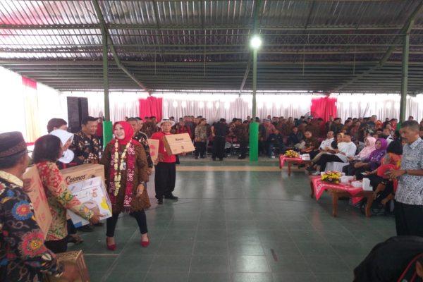 Bupati Klaten Sri Mulyani Bertemu Rivalnya Nanik Herawati di Sambang Warga