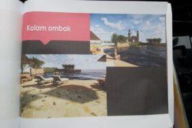 Gambar desain Taman Apung yang akan dibangun di lahan bekas Pondok Persada, Jurug, Jebres, Solo. (Istimewa)