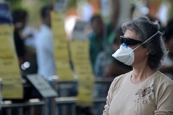 Bebas Masker Corona, Pemudik Sragen Dikenai Sanksi Denda Karena Tidak Pakai Masker Tunggal