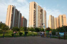 Apartemen di Wuhan, China, kota yang terisolasi akibat merebaknya virus Corona. (Istimewa)