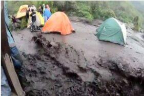 Awas, Arus Deras Bahayakan Pendaki di Pos 2 Gunung Merbabu Boyolali