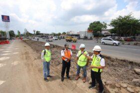 Alat Berat Mulai Didatangkan ke Lokasi Proyek Flyover Purwosari Solo Selasa