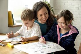 ilustrasi homeschooling (freepik)