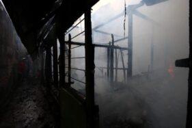 2 Rumah di Purwosari Solo Ludes Terbakar Gara-Gara Korsleting