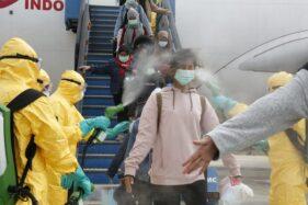 Senangnya, WNI Eks Wuhan di Natuna Bisa Lepas Masker