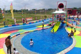 Waterpark Pluneng tang berada di Desa Pluneng, Kebonarum, Klaten. (Solopos/Ponco Suseno)