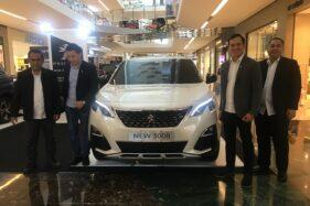 Peluncuran New Peugeot 3008 SUV Allure Plus dan 5008 SUV Allure Plus di The Park Mall, Kamis (13/2/2020). (Solopos/Farida Trisnaningtyas)