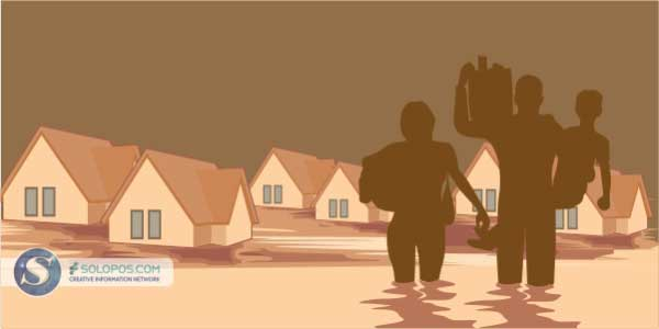 Pekalongan Dilanda Banjir, 2.075 Rumah Warga Terendam