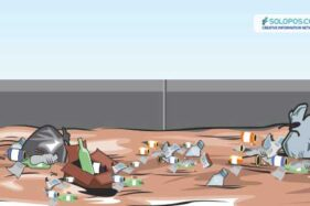 Begini Cara BPBD Karanganyar Perangi Perilaku Buang Sampah di Sungai