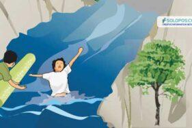 Mandi di Sungai Serang Grobogan, Dua Bocah Perempuan Hanyut
