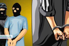 Otak Kerusuhan di Mertodranan Solo Ditangkap Densus 88 di Rumah Terduga Teroris di Jepara