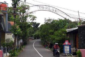 Gapura Kampung Koplak, Kelurahan Siswodipuran, Kecamatan/Kabupaten Boyolali, Jawa Tengah. (Detik.com)