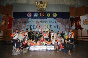 Tim Solo Juara Umum Kejurnas Karate di Purwokerto