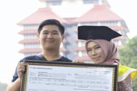 Mahasiswi Cantik UI Dikado Saham dari Gebetan Saat Wisuda, Begini Kisahnya
